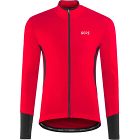 GORE WEAR C5 Thermo Jersey Herre red/black
